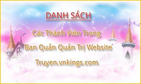 Danh Sách Quản Trị Viên Website vnkings.com