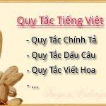 Quy Tắc Tiếng Việt