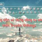 Hướng dẫn sử dụng công cụ soạn thảo trên Truyện Vnkings.
