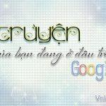 Truyện của bạn đang ở đâu trên Google?