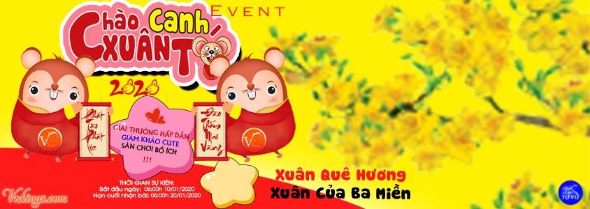 """Event """"Chào Xuân Canh Tý 2020"""""""