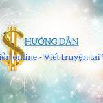Kiếm tiền online: Viết truyện tại Vnkings