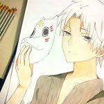 Lam Ẩn – Tranh tự vẽ