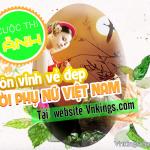 Cuộc thi Ảnh tôn vinh vẻ đẹp người phụ nữ Việt Nam tại website Vnkings.com