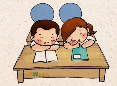 Tôi thích cậu! Cô gái cùng bàn.