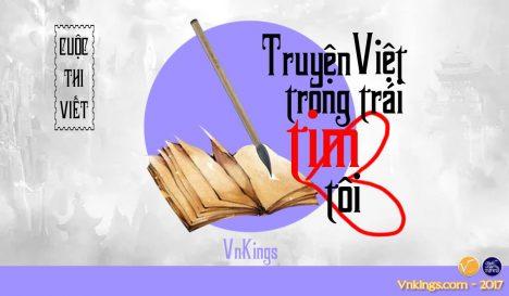 Kết quả cuộc thi: Vnkings – Truyện Việt trong trái tim tôi!