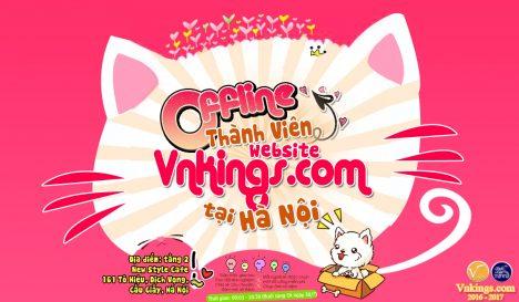 [30/7]Sự kiện Offline Thành viên website Vnkings.com tại Hà Nội