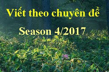 Viết theo chuyên đề – Season 2017
