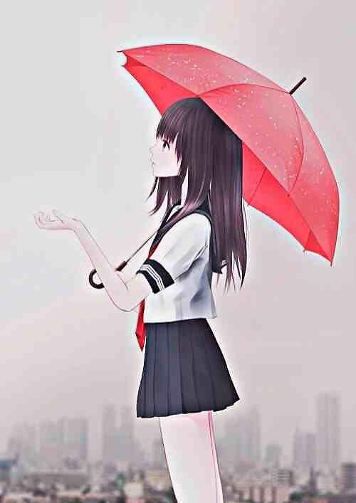 Cơn mưa nhẹ lướt qua đời em