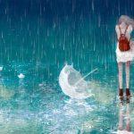 Cô gái và mưa