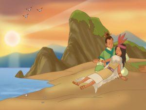 Mị Châu – Trọng Thủy ở đại dương