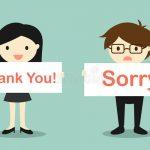 Viết một bài văn nêu suy nghĩ của em về hiện tượng ngày nay học sinh quên mất cách cảm ơn và xin lỗi.