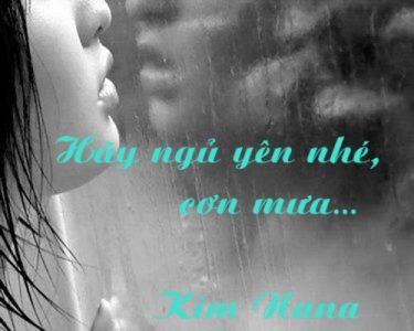Hãy ngủ yên nhé, cơn mưa…