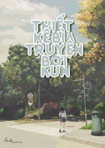 Thiết kế bìa truyện bởi Kun
