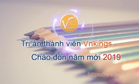 Tri ân thành viên Vnkings – Chào đón năm mới 2019