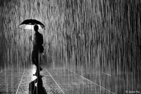 Chiều mưa phùn