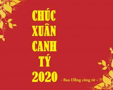 [Xuân Canh Tý – Đào Thắm Mai Vàng] Chúc xuân Canh Tý 2020