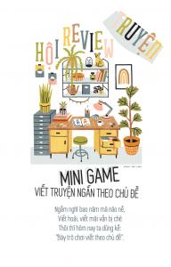 Hội review truyện – Mini game viết truyện ngắn theo chủ đề