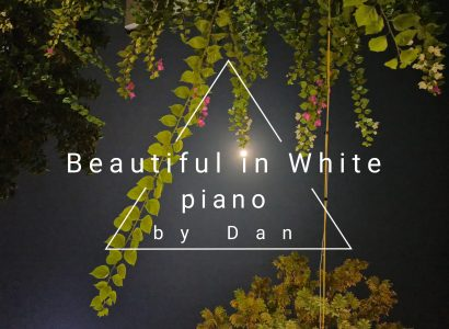 Pianocover: Beautiful in white
