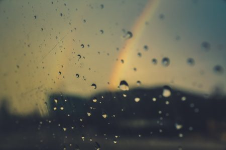 Khi trời mưa