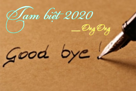 Tạm biệt 2020