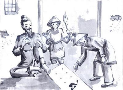 Phân tích cảnh cho chữ của Huấn Cao – Chữ người tử tù